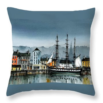 Dunbrody In New Ross Throw Pillow