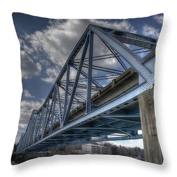 Duncan Bridge Throw Pillow