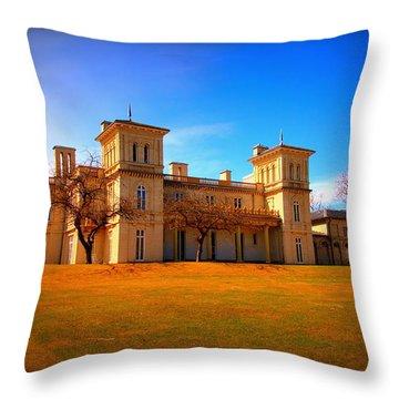 Dundurn Castle Throw Pillow