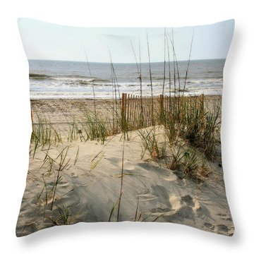 Dune Throw Pillow by Angela Rath