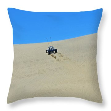 Dune Buggy 003 Throw Pillow by George Bostian
