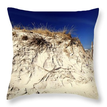 Throw Pillow featuring the photograph Dune Heights by John Rizzuto