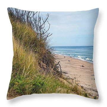 Throw Pillow featuring the photograph Dune by Kendall McKernon