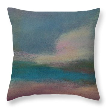 Dunes On The Horizon Throw Pillow