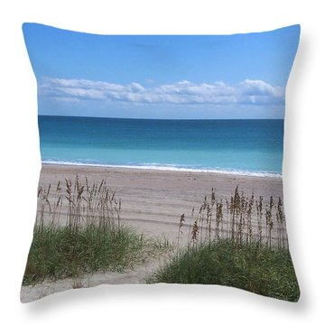 Throw Pillow featuring the photograph Dunes On The Outerbanks by Sandi OReilly