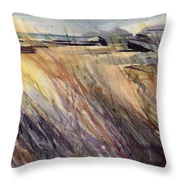 Dunescape Setting Throw Pillow