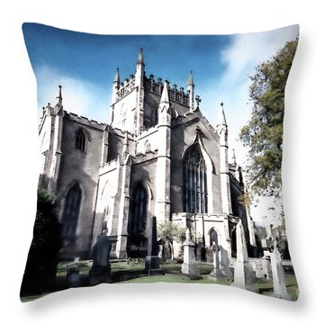 Throw Pillow featuring the photograph Dunfermline by Anthony Baatz