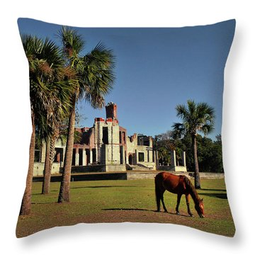 Throw Pillow featuring the photograph Dungeness  by Jessica Brawley
