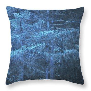 Dunkelheit Throw Pillow