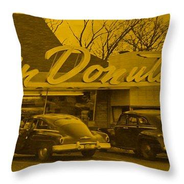 Dunkin Donuts Throw Pillow