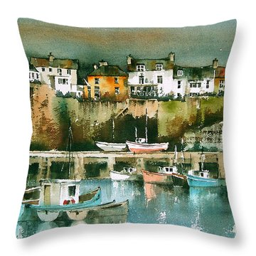 Dunmore East, Waterford Throw Pillow