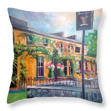 Dunraven Arms Hotel Adare Co Limerick Ireland Throw Pillow