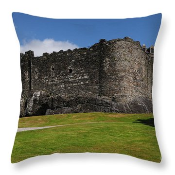 Dunstaffnage Castle Throw Pillow