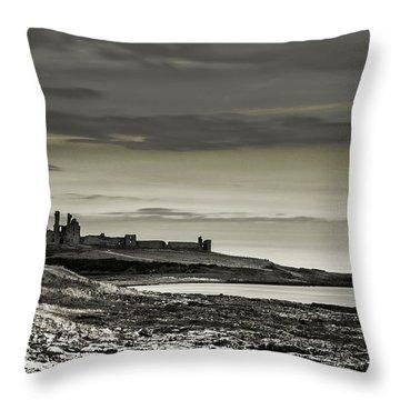 Dunstanburgh Throw Pillow