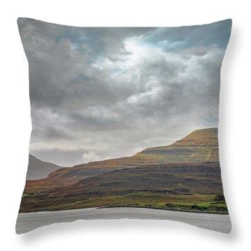 Dunvegan - Isle Of Skye Throw Pillow