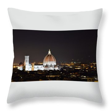 Duomo Illuminated Throw Pillow