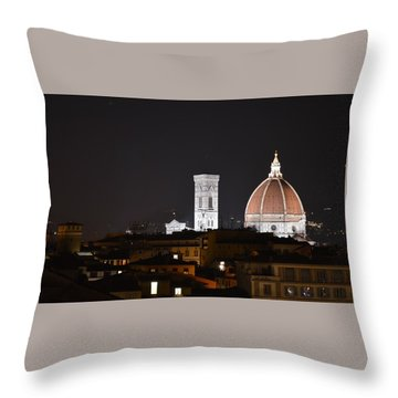 Duomo Up Close Throw Pillow