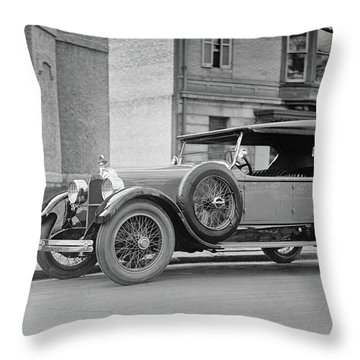 Dusenberg Car Circa 1923 Throw Pillow