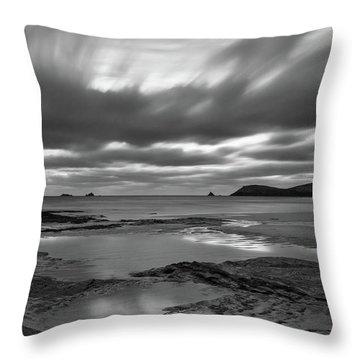 Dusk Over Constantine Bay  Throw Pillow