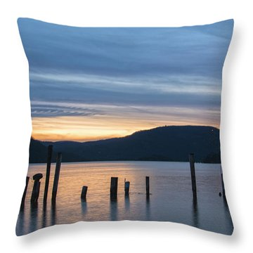 Dusk Sentinels Throw Pillow by Angelo Marcialis