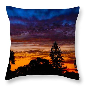 Throw Pillow featuring the photograph Dusky by Mark Blauhoefer