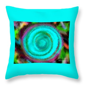 Dusted Throw Pillow by Catherine Lott