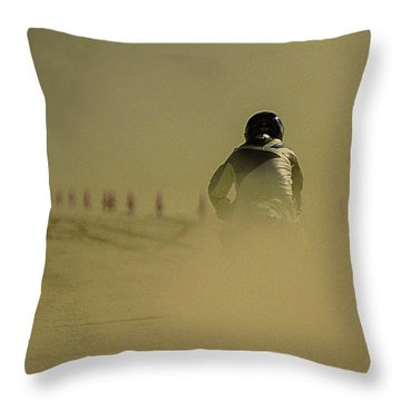 Dusty Exit Throw Pillow