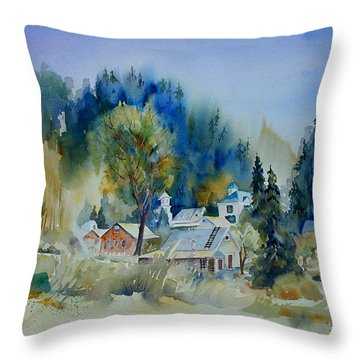 Dutch Flat Hamlet #2 Throw Pillow