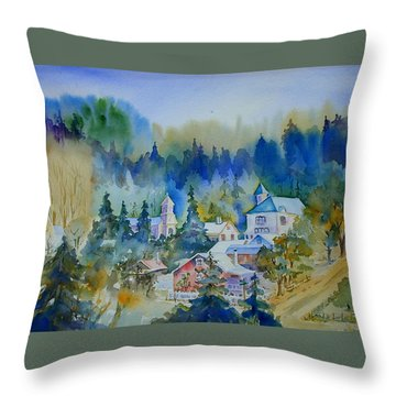 Dutch Flat Hamlet#3 Throw Pillow
