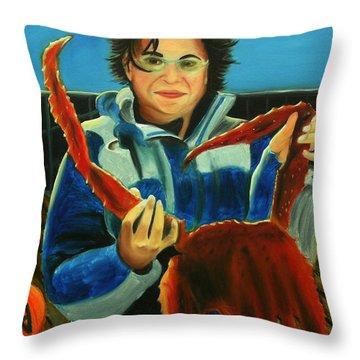 Dutch Harbor Delight Throw Pillow