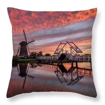 dutch Inferno Throw Pillow