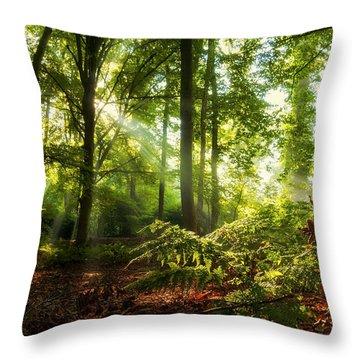 Dutch Jungle Throw Pillow