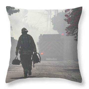 Duty Calls Throw Pillow