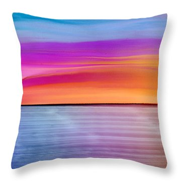 Dwindle By Day Throw Pillow