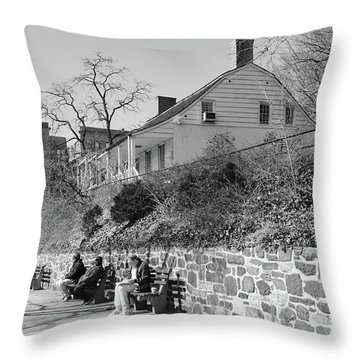 Dyckman Farmhouse  Throw Pillow by Cole Thompson