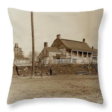 Dyckman House  Throw Pillow