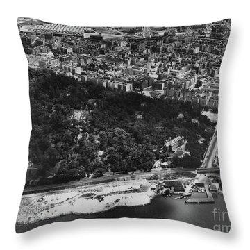 Dyckman Street Ferry, 1935 Throw Pillow