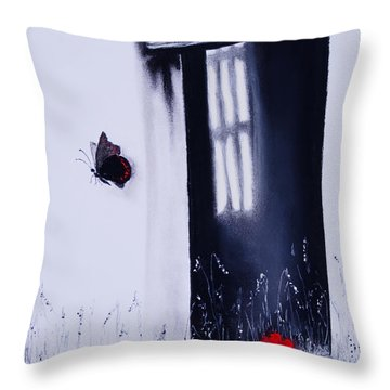 Dying Is Easy Throw Pillow