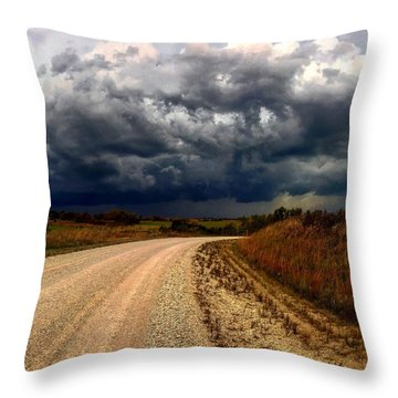 Dying Tornadic Supercell Throw Pillow