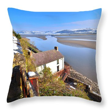Dylan Thomas Boathouse 2 Throw Pillow
