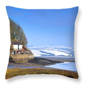 Dylan Thomas Boathouse 3 Throw Pillow