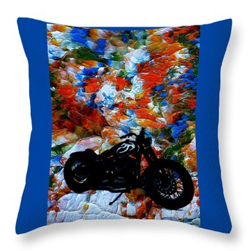 Dyna-might Throw Pillow