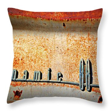 Dynamic Decay  Throw Pillow