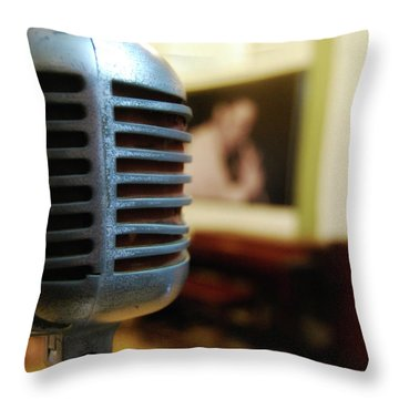 Dynamic Sound Throw Pillow by JAMART Photography