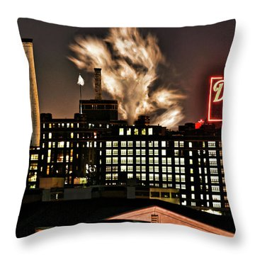 Dynamic Sugar Throw Pillow