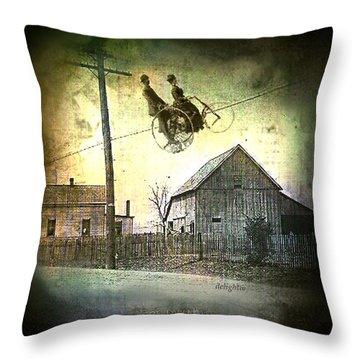 Dynamite Barn Throw Pillow
