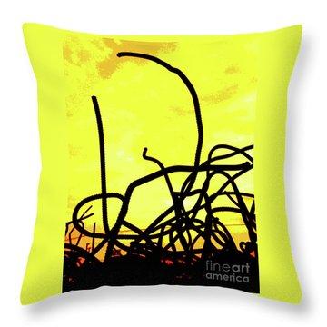 Family Throw Pillow by Joe Jake Pratt