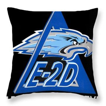 E-2d Advanced Hawkeye Throw Pillow