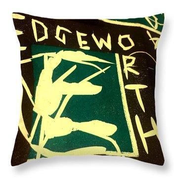 E Cd Cover Art Throw Pillow
