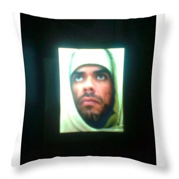 E-mage From Himself For Master Throw Pillow